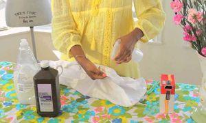 Как вывести любое пятно с одежды