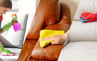 Эффективная чистка дивана своими руками. Обзор средств