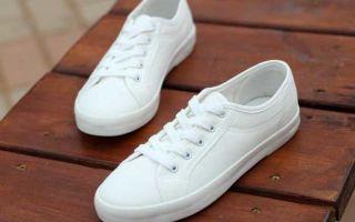 Как отбелить белые кроссовки: проверенные способы