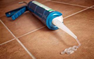 Чем отмыть силиконовый герметик: доступные способы решения проблемы