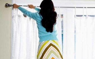 Как правильно стирать тюль в домашних условиях: советы и рекомендации