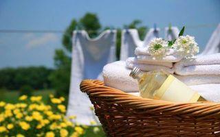 Как отбелить белые вещи в домашних условиях. Советы домохозяек