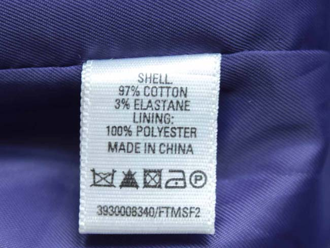 бирка на одежде просмотреть перед стиркой