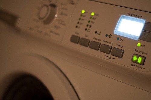 выбор правильного режима у стиральной машины