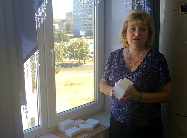 меламиновые губки помогут в борьбе со скотчем