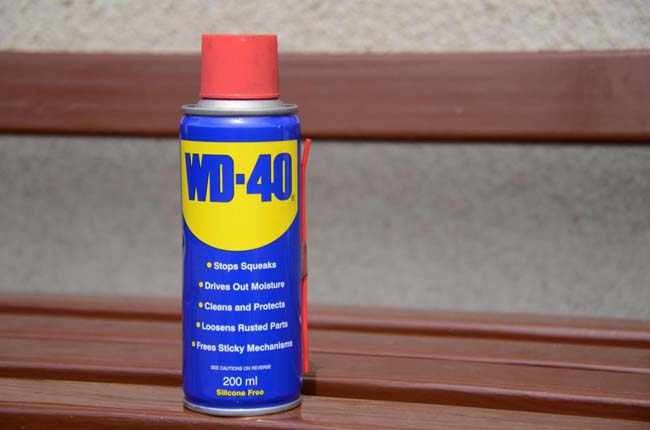 WD 40 смазка