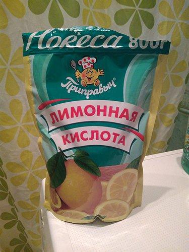 лимонная кислота для ванн