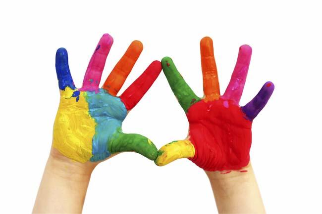 руки испачканы в акриловой краске, как отмыть?