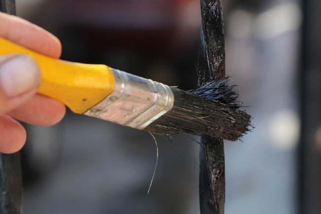 окрашивание изделия предотвращает образование ржавчины