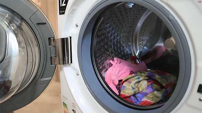 стираем одежду правильно