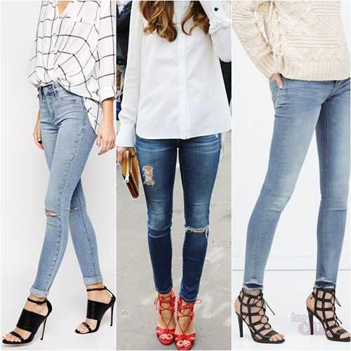 севшие джинсы стягивают не только попу