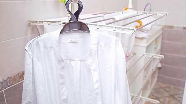 белая рубашка после отбеливания