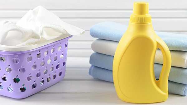 отбеливатель и чистое белье