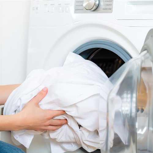 белые рубашки стираем в машинке