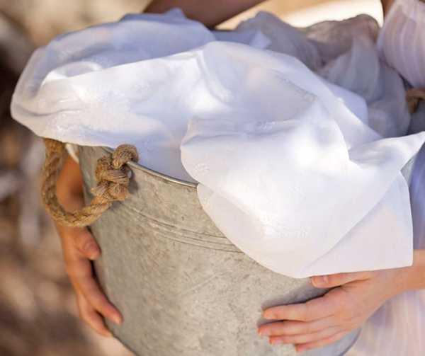 белье после отбеливания марганцовкой