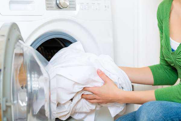 стирка тюля в стиральной машинке