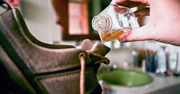 арома масло для устранения запаха из обуви