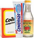 сода уксус и зубная паста