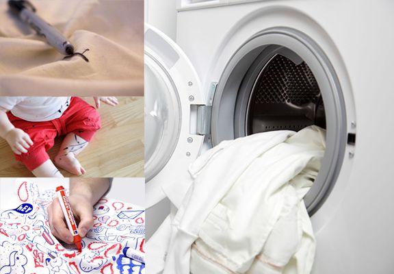 Отстирать фломастер с белой одежды
