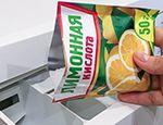 засыпаем лимонную кислоту в стиральную машину