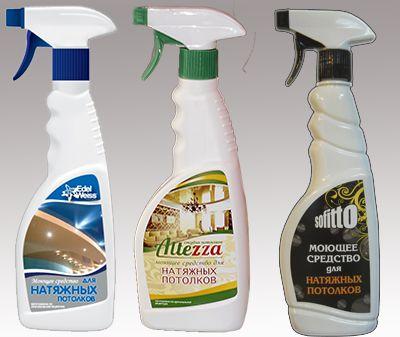 моющие средства для потолков